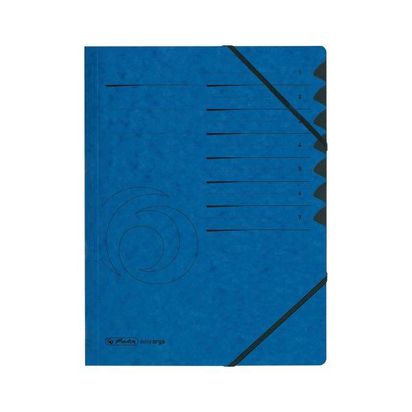 Ordnungsmappe 1-7 Quality blau