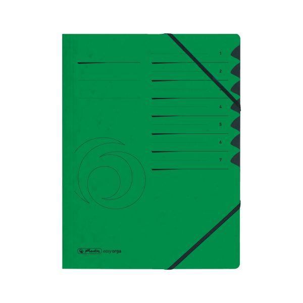 Ordnungsmappe 1-7 Quality grün