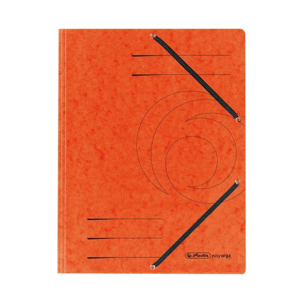 Einschlagmappe mit Gummizug A4 Quality orange