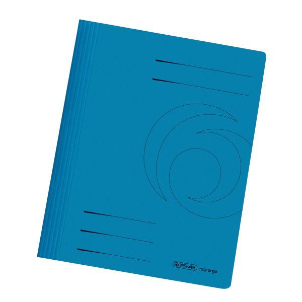 Schnellhefter A4 Karton intensiv blau