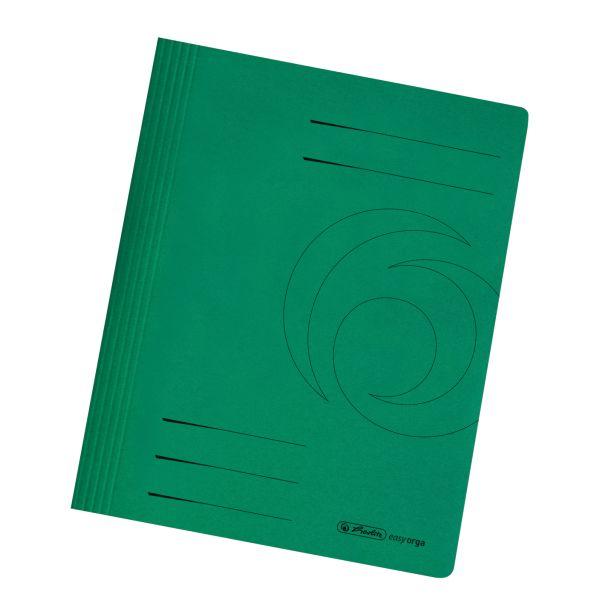 Schnellhefter A4 Karton intensiv dunkelgrün