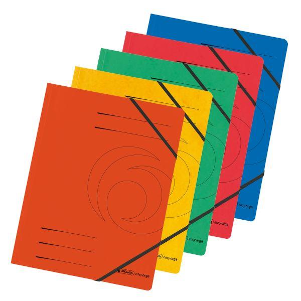 Eckspanner Quality A4 farbig sortiert 5er