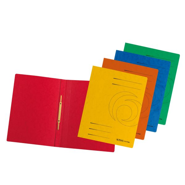Schnellhefter A4 Karton Quality farbig sortiert 10 Stück