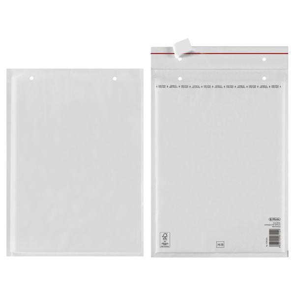 Luftpolstertasche H 29x37cm haftklebend weiß FSC Mix 2er Packung