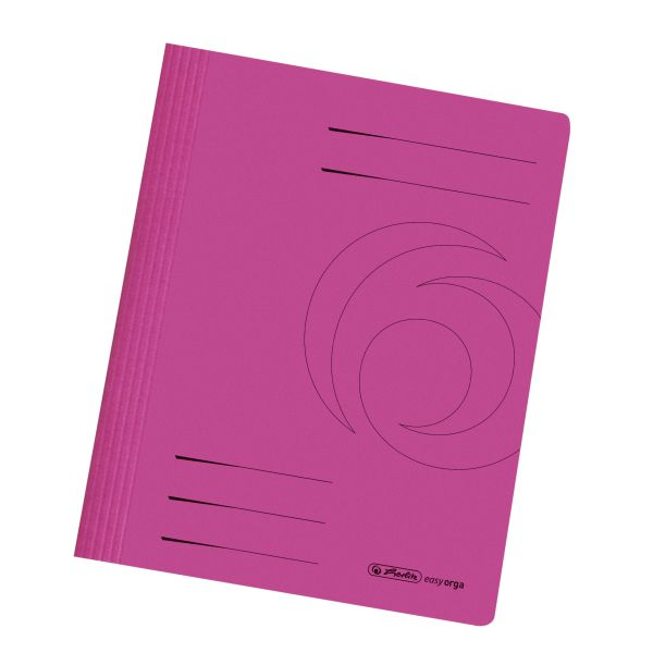 Schnellhefter A4 Karton gefaltet pink