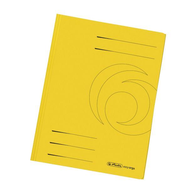 Einschlagmappe A4 Recycling intensiv gelb