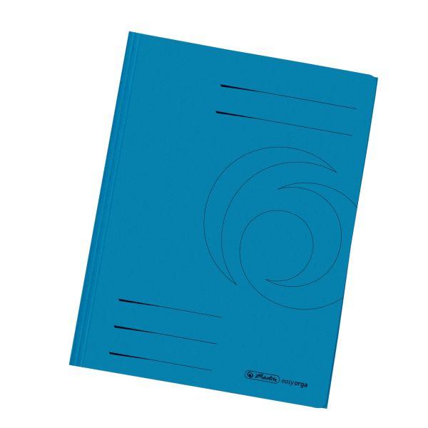 Einschlagmappe A4 Recycling intensiv blau