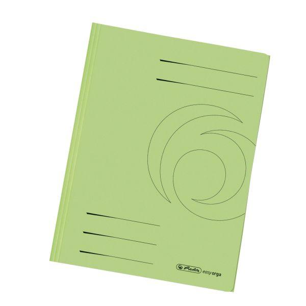 Einschlagmappe A4 Recycling intensiv hellgrün