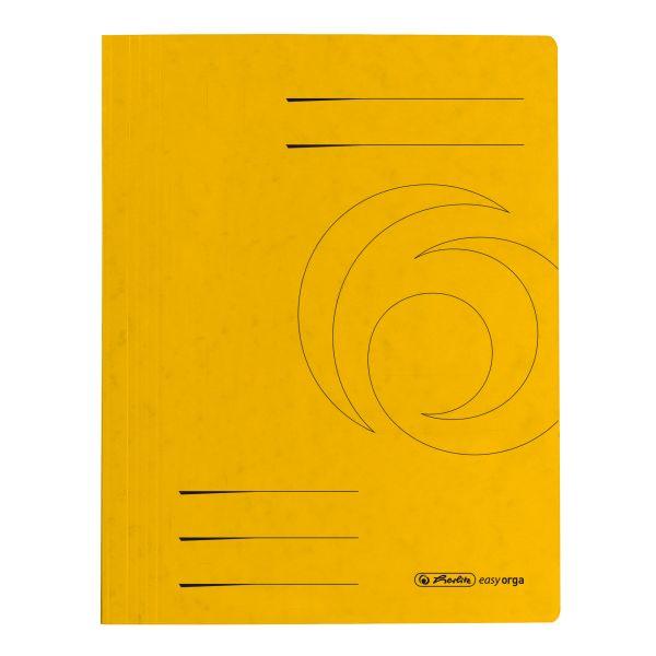 Schnellhefter A4 Karton Quality gelb