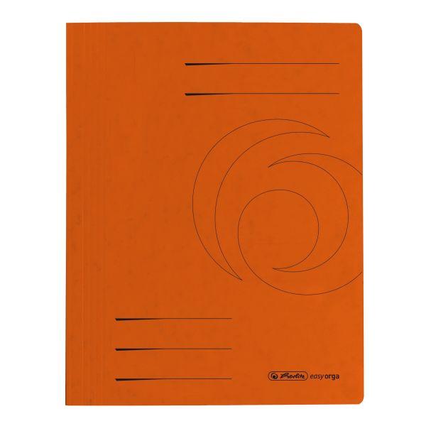 Schnellhefter A4 Karton Quality orange
