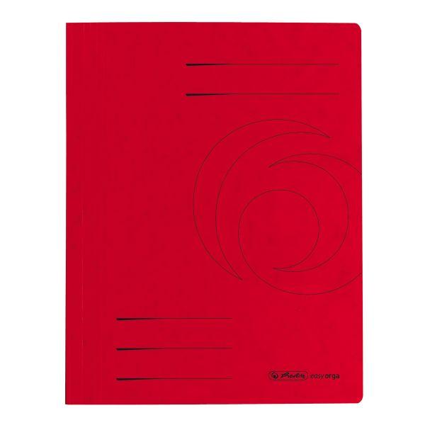 Schnellhefter A4 Colorspan rot