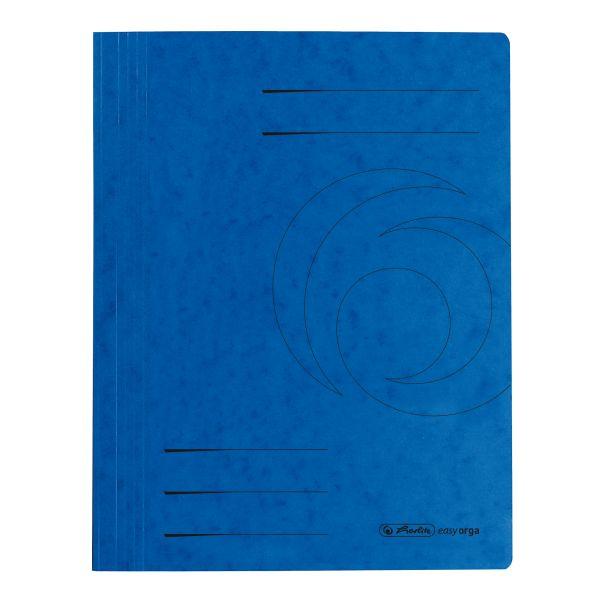 Schnellhefter A4 Karton Quality blau