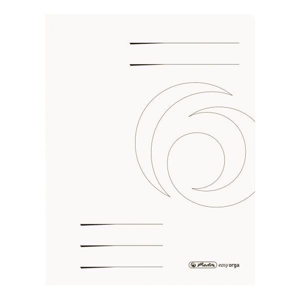 Schnellhefter A4 Colorspan weiß