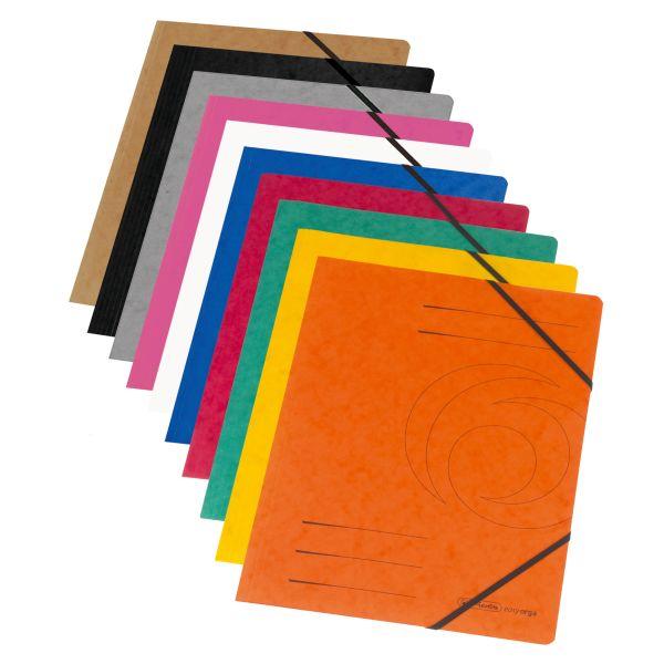 Eckspanner Quality A4 farbig sortiert