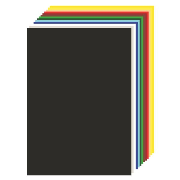 Tonzeichenkarton 50x70 cm rot