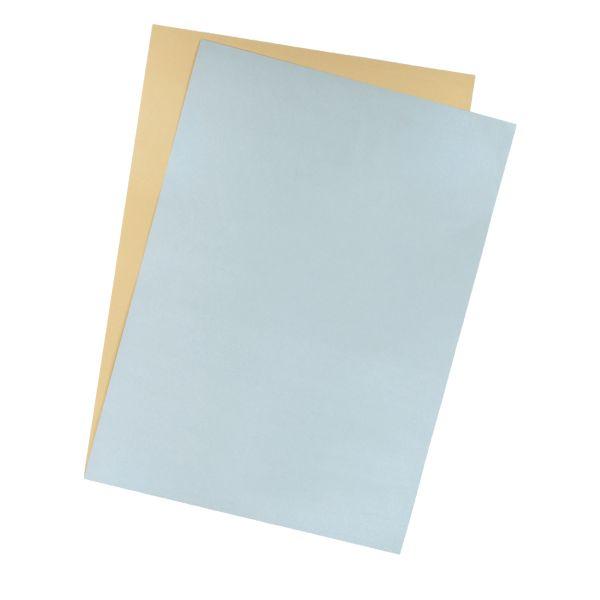 Tonzeichenkarton 50x70 cm silber