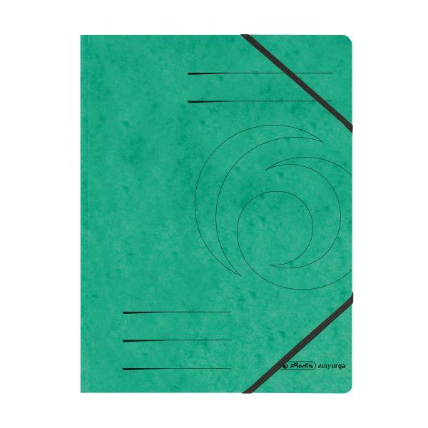 Eckspanner Quality A4 grün