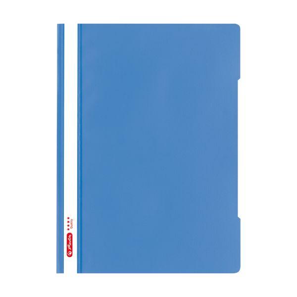 Schnellhefter A4 PP 'Quality' baltic blue