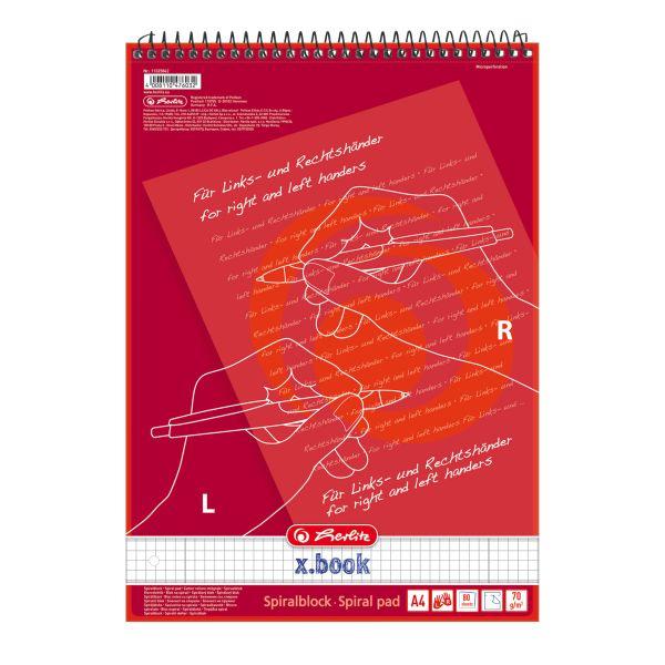 Beidhänderblock A4 80 Blatt Lineatur 28 für Links- und Rechtshänder 1 Motiv