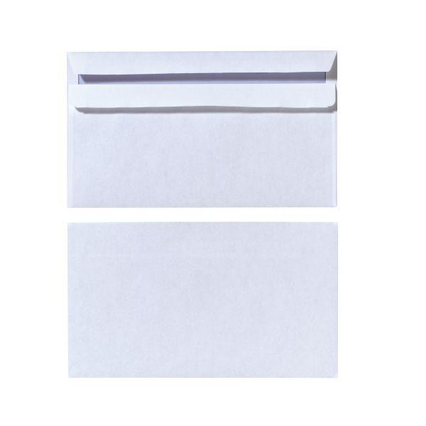 Briefumschlag DL selbstklebend weiß 100er Packung FSC Mix