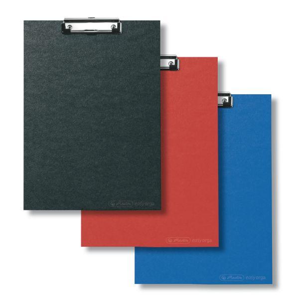 Klemmbrett A4 farbig sortiert 2er Packung