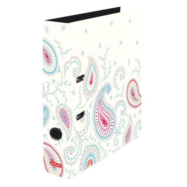 Ordner maX.file A4 8cm Paisley White