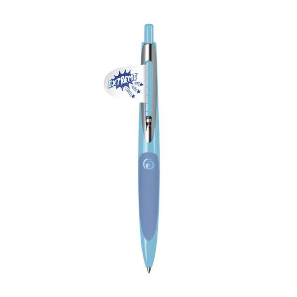 Kugelschreiber my.pen hellblau/dunkelblau lose