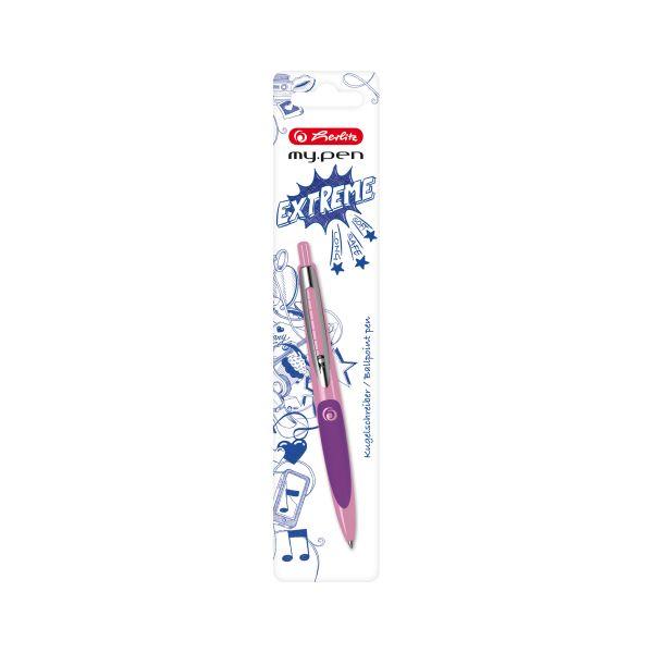 Kugelschreiber my.pen rosa/lila