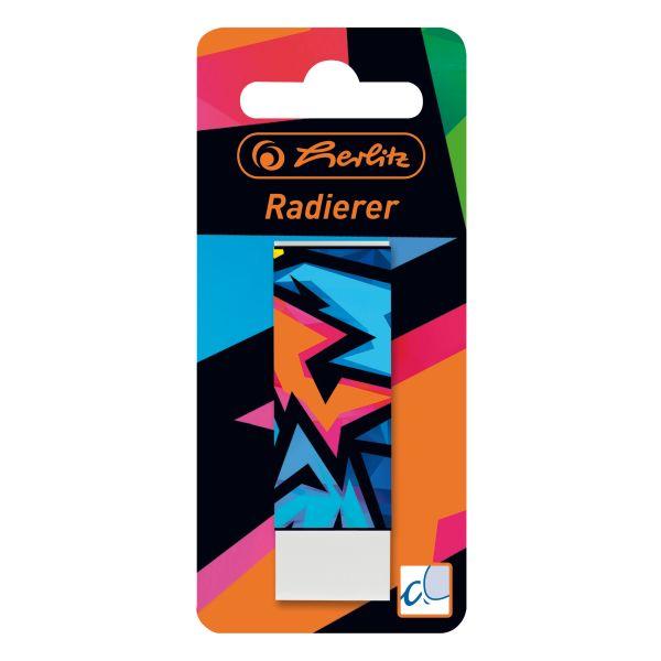 Radierer Neon Art