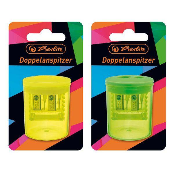 Doppeldosenanspitzer Neon Art