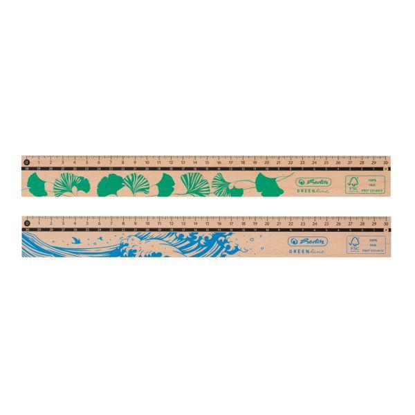 Lineal 30cm, aus Holz, FSC 100%
