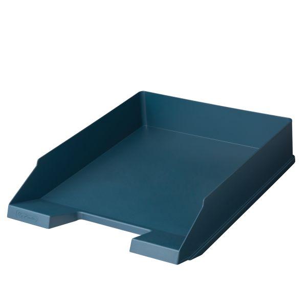 Ablagekorb A4-C4 classic Herlitz recycling Blauer Engel dunkelblau
