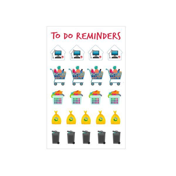 Planner Sticker Motiv 1 selbstklebend FSC