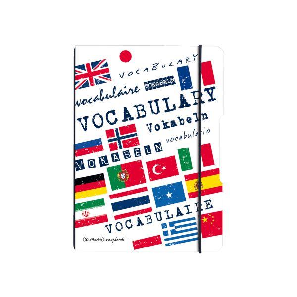 Notebook flex PP A5, 40 sheets, no.53 vocabulary, my.book