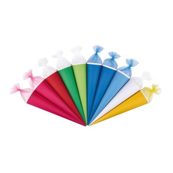 handicraft cone 70 cm colours assorted