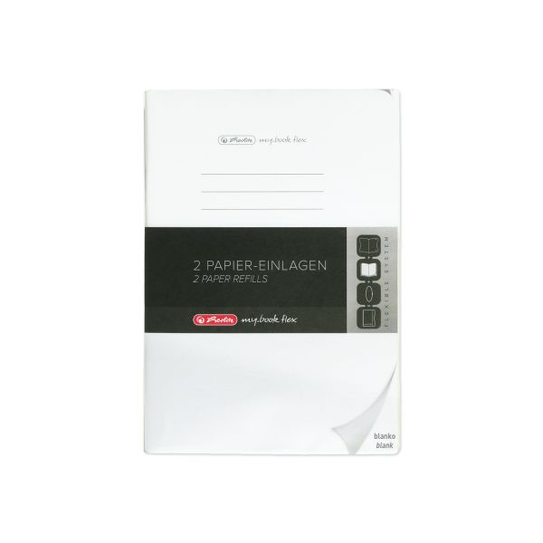 Refill flex A4 2x40 sheets blank punched, microperforation my.book