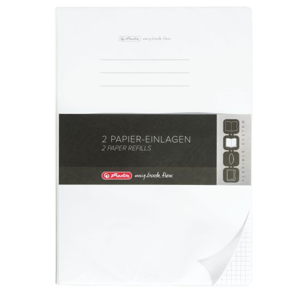 Refill flex A4 2x40 sheets squared punched, microperforation my.book