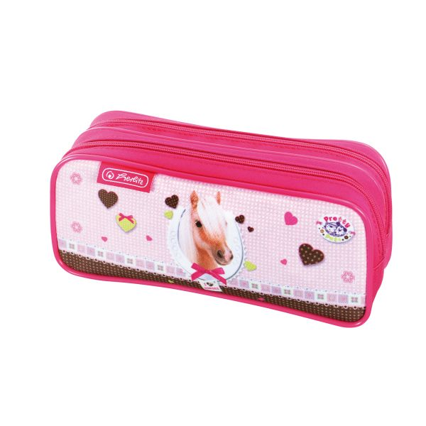 double pencil pouch Pretty Pets Horse