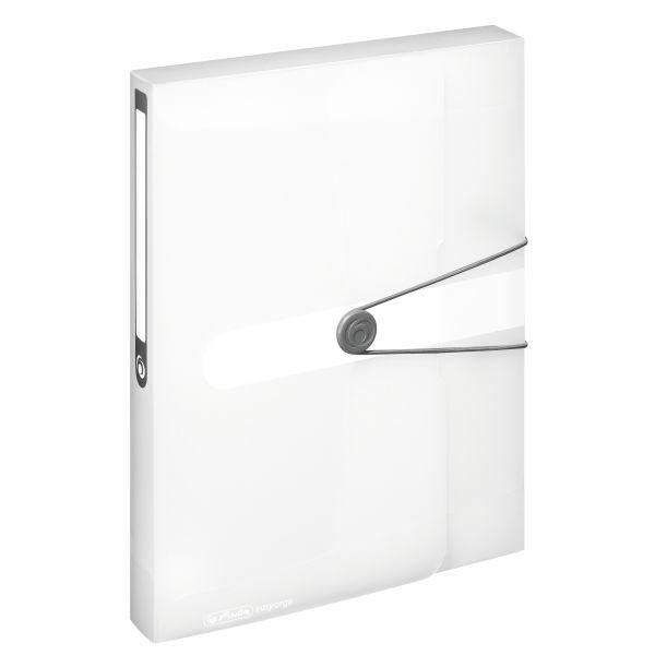 document box A4 PP transparent colourless