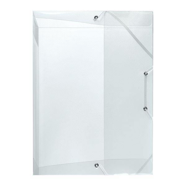 file box A4 PP translucent colourless