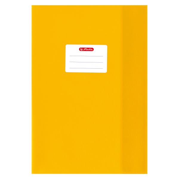 exercise book cover A4 PP structure of bast yellow