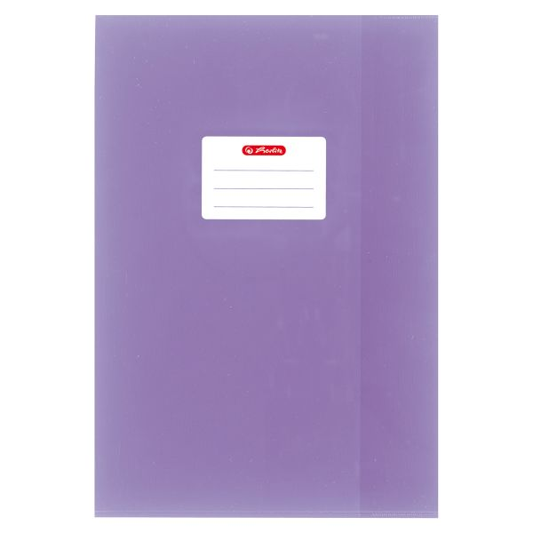 exercise book cover A4 PP structure of bast, purple