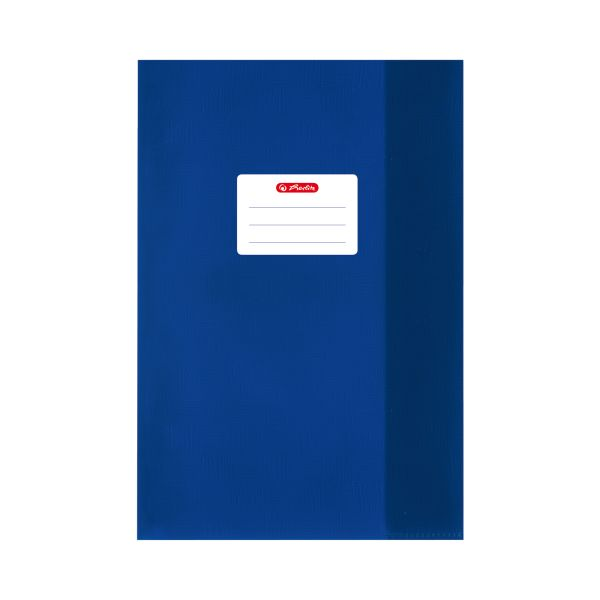 exercise book cover A5 PP structure of bast dark blue
