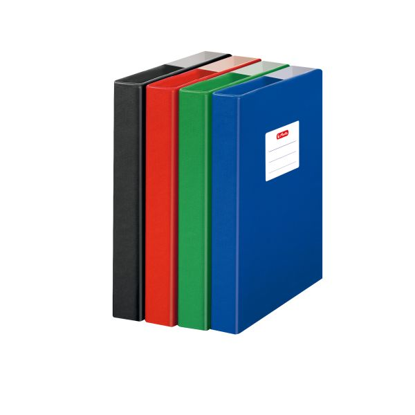 file box A5 PP assorted colours