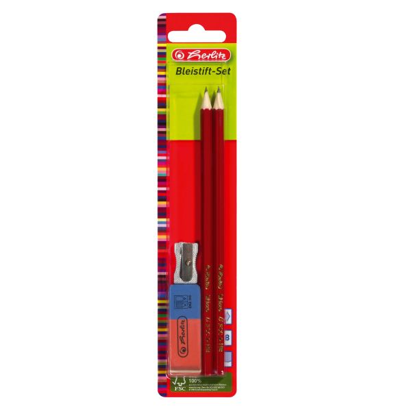 pencil set Skizzo 4 pieces on blistercard