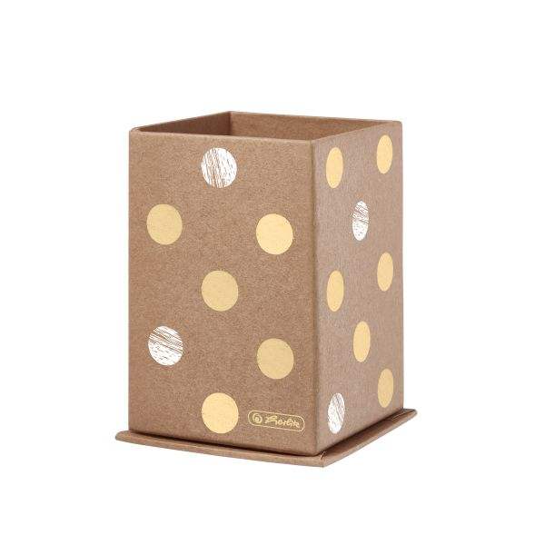 pen stand cardboard squared Pure Glam