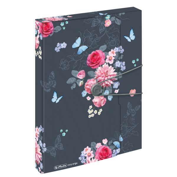document box A4 PP Ladylike Flowers