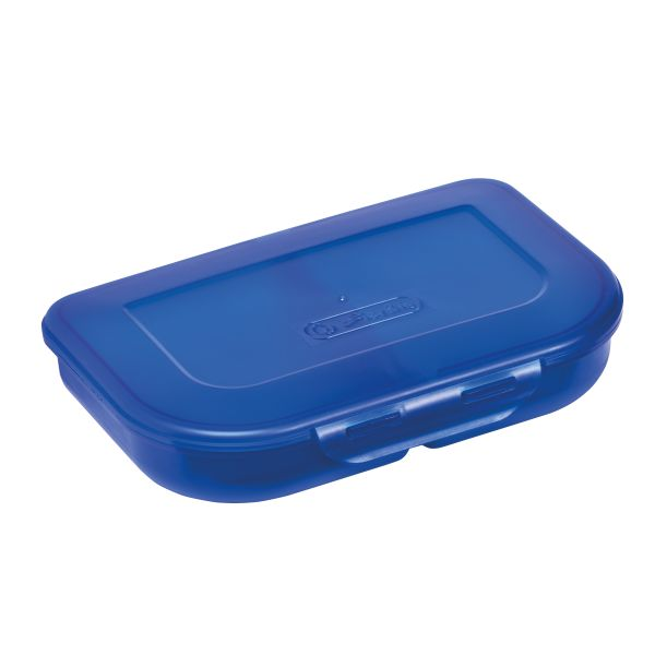 lunch box blue
