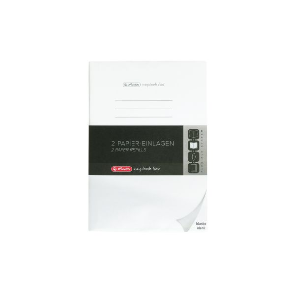 Refill flex A4 2x40 sheets blank, FSC Mix, punched, microperforation my.book