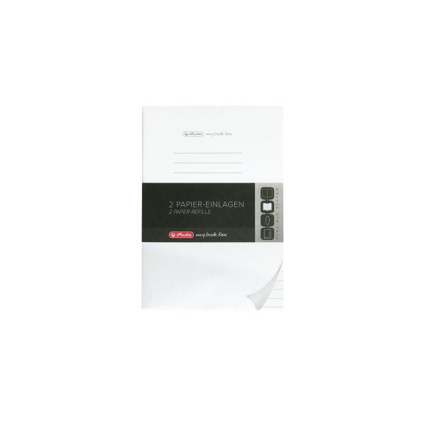 Refill flex A5 2x40 sheets ruled, FSC Mix, my.book